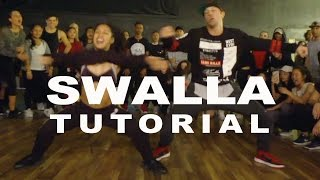 """SWALLA"" - Jason Derulo FEAT. Nicki Minaj Dance TUTORIAL   @MattSteffanina Choreography"