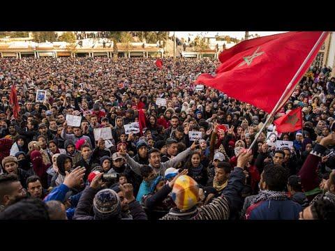 المغرب: استمرار المظاهرات في جرادة بعد مقتل اثنين من عمال المناجم