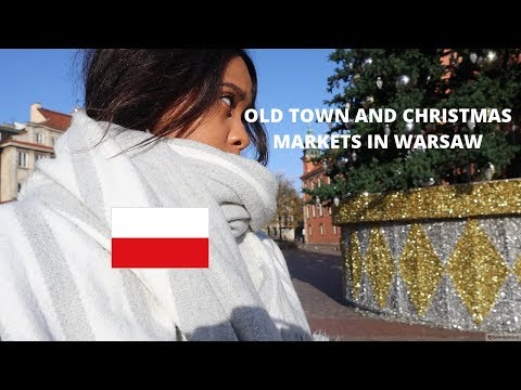 CHRISTMAS MARKETS IN POLAND : OLD TOWN WARSAW🇵🇱