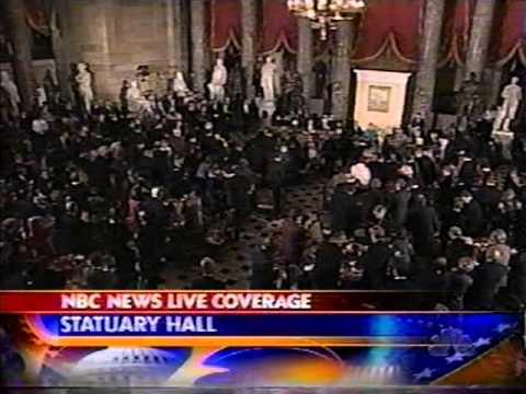 George W Bush 1st Inauguration - January 20, 2001 - ABC News Coverage Pt 3