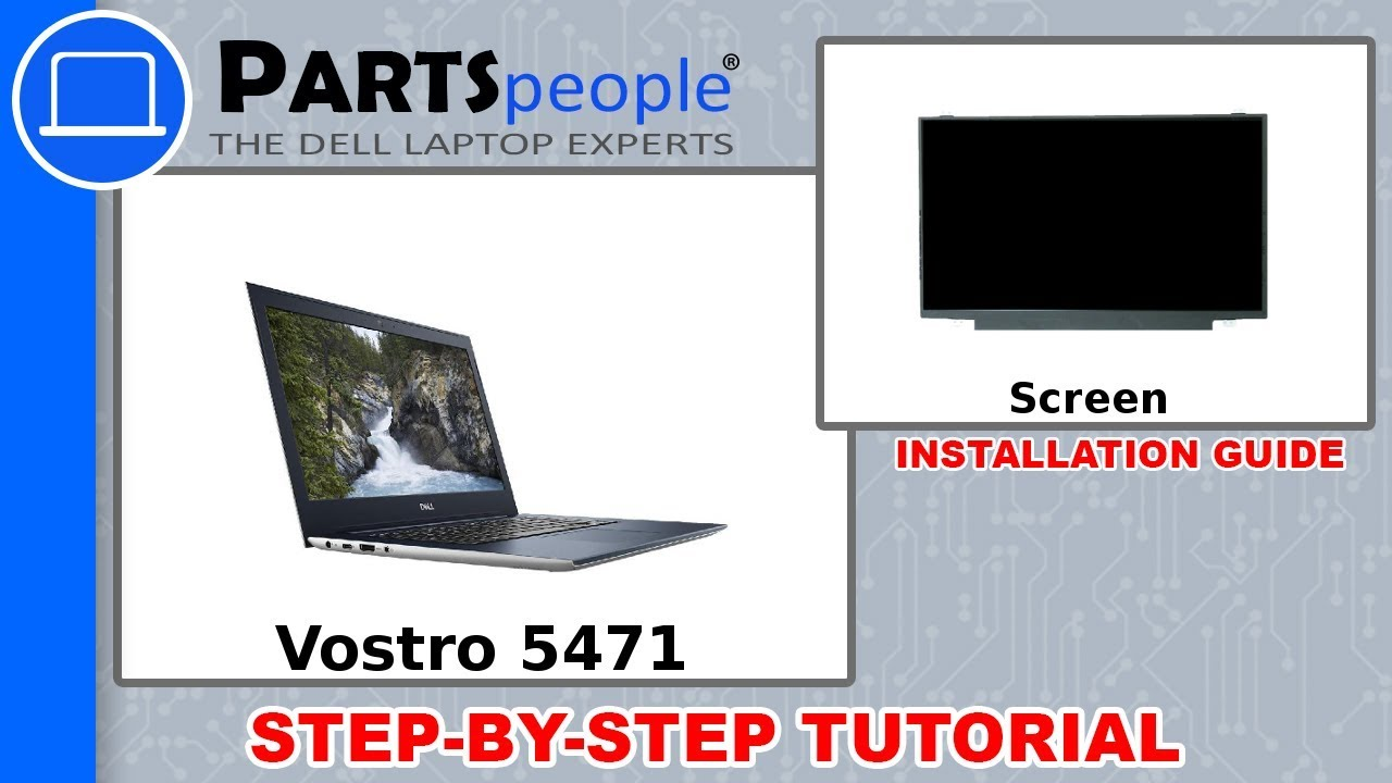 Dell Vostro 5471 (P88G001) Screen How-To Video Tutorial