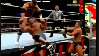 John cena vs The Miz I Quit Match (highlights)