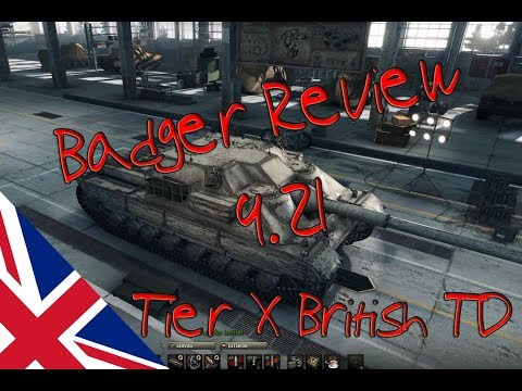 World of Tanks - 9.21 Badger Review