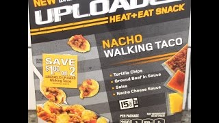 Lunchables Uploaded: Nacho Walking Taco Review