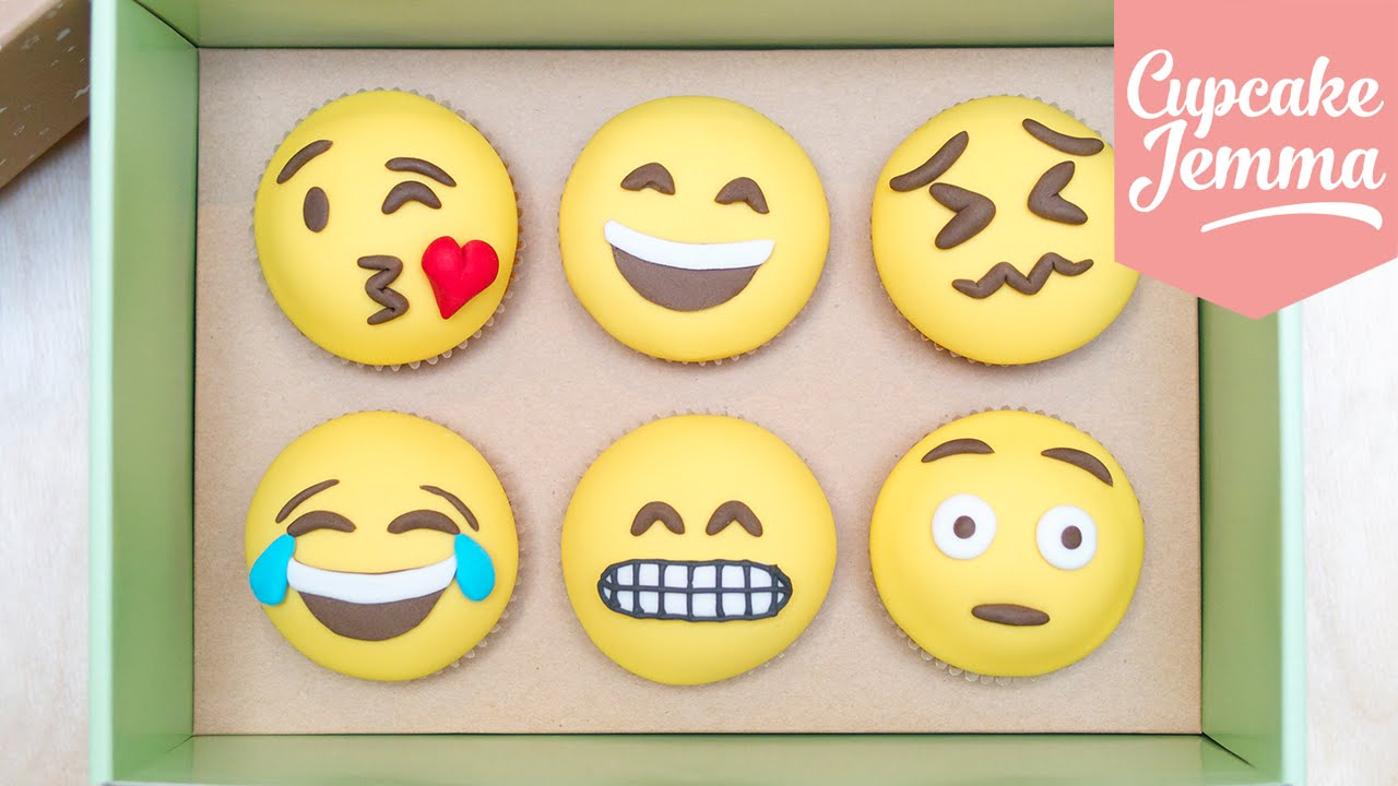 How To Make Emoji Cupcakes
