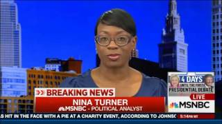 Nina Turner shuts down Donald Trump spox AJ Delgado re: Racism