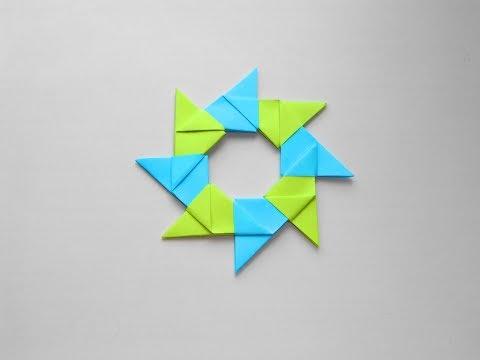 Origami Kertas Star