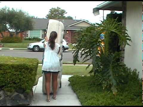 Bedsledzzz Demo Video One Person Mattress Moving
