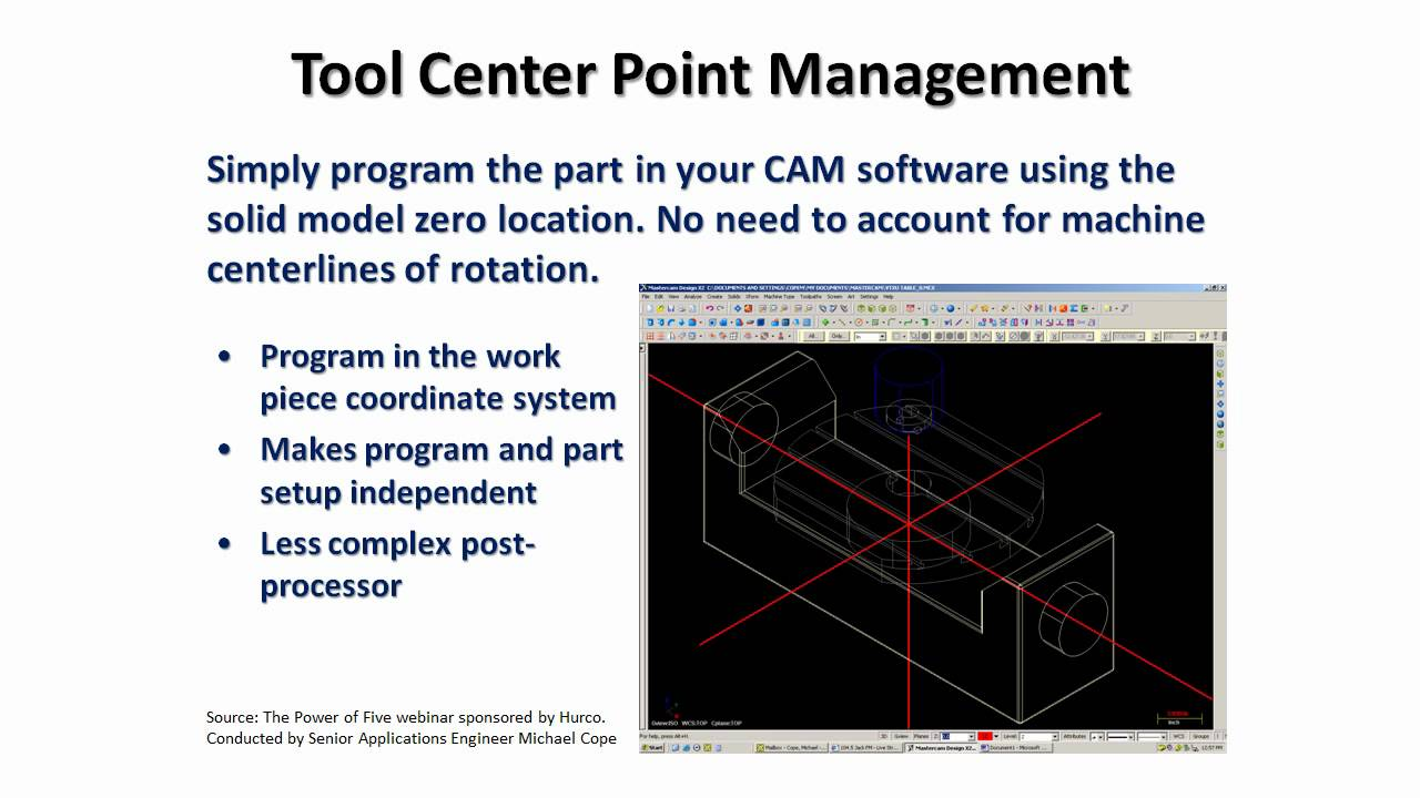 Center Point Number >> Tool Center Point Management