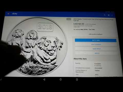 2018 tokelau  lunar dog proof coin possibly the best designed lunar dog coin ive seen .let me know