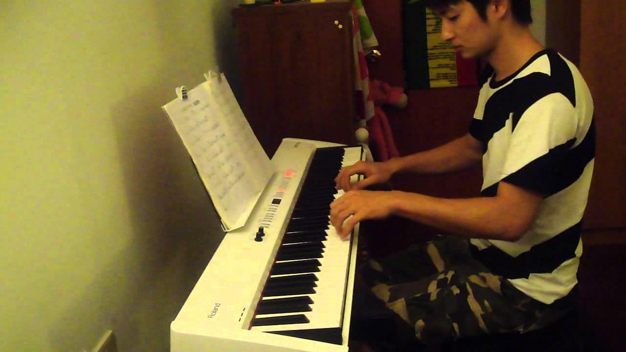 失落沙洲 Piano (Cover) 初學者練習