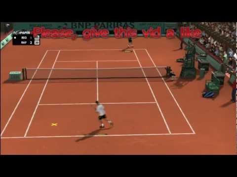 Top Spin 4 VS Grand Slam Tennis 2 HD