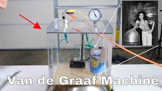 Does a Van de Graaf Machine Still Work in a Vacuum Chamber?