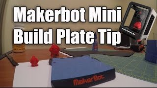 Makerbot Replicator Mini Build Plate Tape Tip