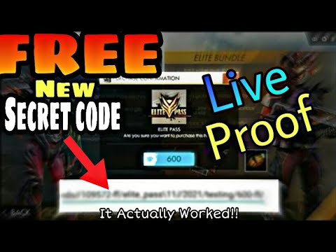 How To Get Free Fire Elite Pass FOR FREE Season 14 *NEW SECRET CODE*