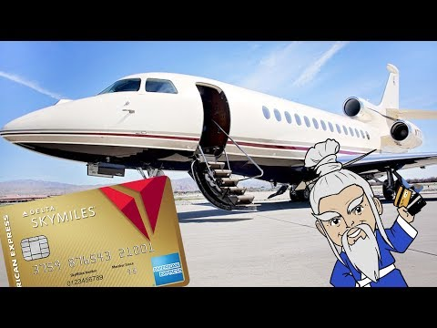 How to Fly PRIVATE JET For FREE With Credit Card Points
