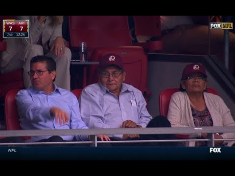 Redskins Owner Watches Game With Navajo Nation President