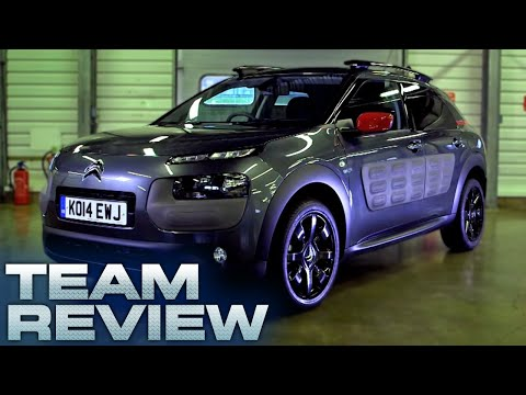 Citroen C4 Cactus Team Review Fifth Gear