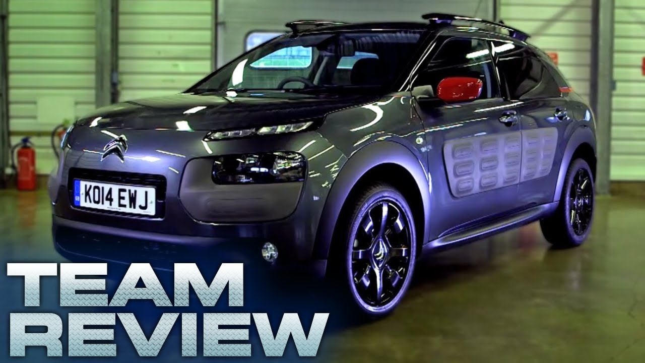 citroen c4 cactus team review fifth gear youtube. Black Bedroom Furniture Sets. Home Design Ideas