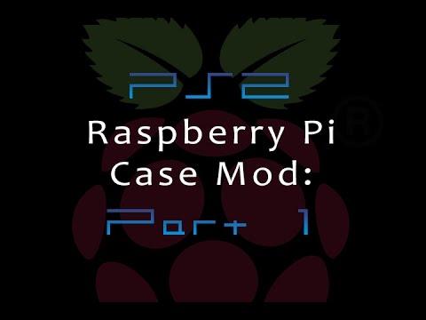 Raspberry Pi PS2 case mod: Part 1