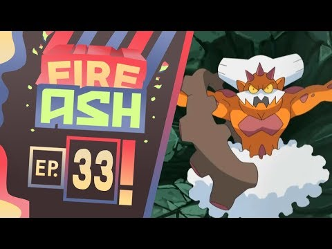 Pokemon Fire Ash Part 33 FORCES OF NATURE! ( Pokemon Fan Game ) Gameplay Walkthrough