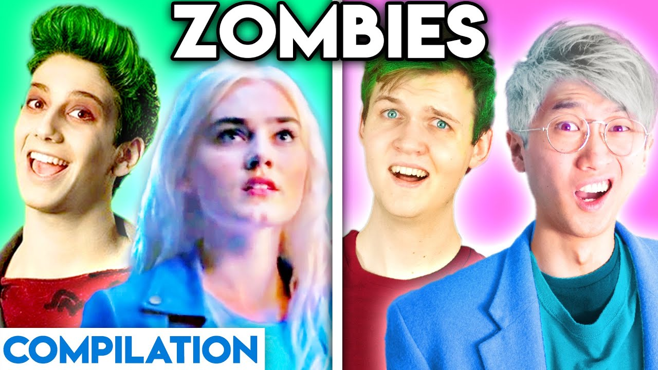 Download ZOMBIES WITH ZERO BUDGET! (SOMEDAY, FLESH & BONE, FIRED UP, & MORE BEST OF LANKYBOX COMPILATION)