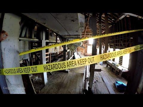 Inside Copper Mine Concentration Mill Kennicott Alaska
