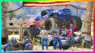 GTA ONLINE FREE MODE - INDEPENDENCE DAY CONTENT HYPE - EARLY FIREWORK PARTIES, FASHION SHOWS & MORE!
