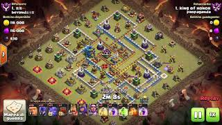 #coc gbowich 3 stelle su th12 tutto pulit clash of clans