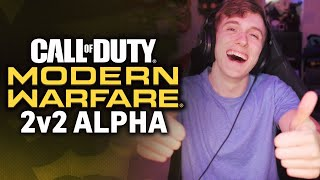 SOMETHING DIFFERENT! | Call of Duty Modern Warfare 2v2 Alpha [LIVE]