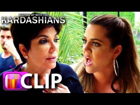 KUWTK: Khloe Kardashian Threatens To Fire Momager Kris Jenner