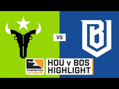 HIGHLIGHTS Houston Outlaws vs. Boston Uprising | Stage 1 | Week 1 | Day 4 | Overwatch League