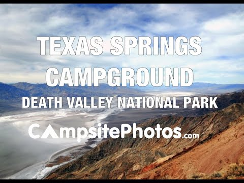 Texas Springs Campground, Death Valley National Park