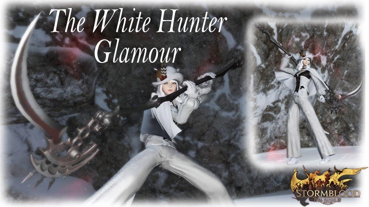FFXIV: White Hunter Glamour by Meoni