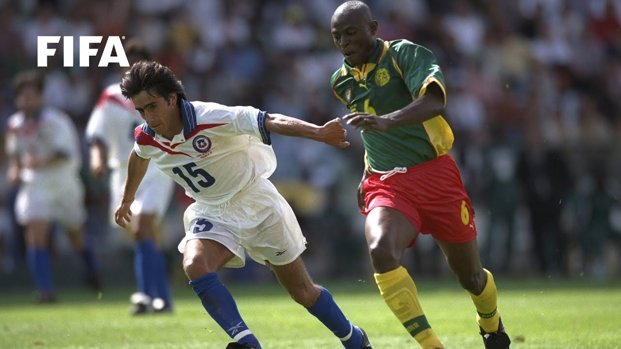 Resultado de imagem para Chile v Cameroon, 1998 FIFA World Cup