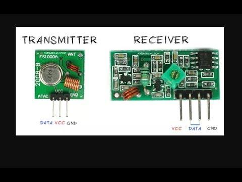 Tutorial Cara Menggunakan Module Wireless RF 433Mhz Transmitter & Receiver  Arduino