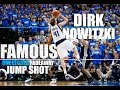 NEW !! DIRK NOWITZKI FAMOUS One Legged Fadeaway Jump Shot MOVE breakdown!!