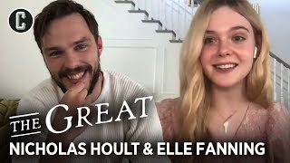 The Great Interview: Nicholas Hoult and Elle Fanning