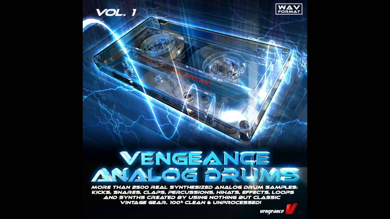 Samples - Vengeance Analog Drums