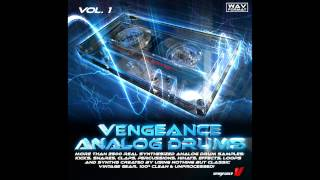 Vengeance-Soundcom - Vengeance Analog Drums Vol 1