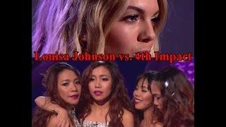 x factor uk 2015 winner louisa johnson or 4th impact social media vs youtube views