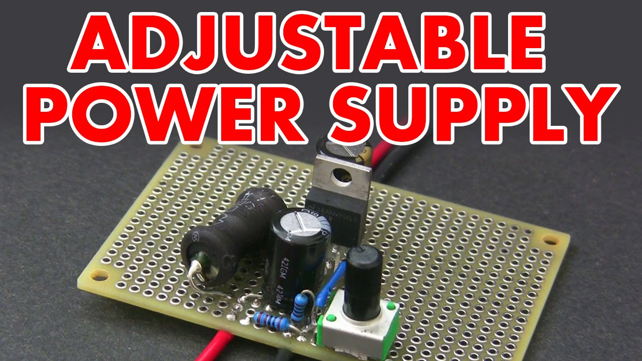 Adjustable Switch Mode Power Supply Tutorial Youtube Control Circuit Bridge Rectifier Regulated Lab