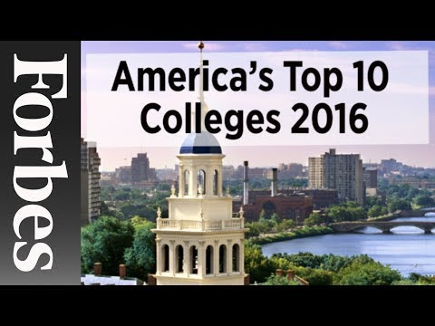 America's Top 10 Colleges (2016) | Forbes