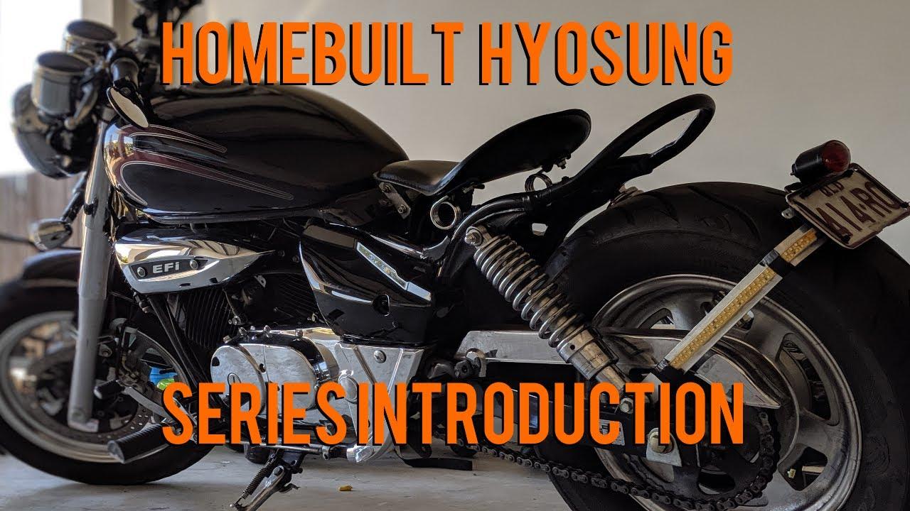 Hyosung GV250 Bobber - YouTube