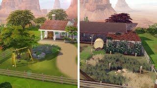 REFORMANDO UM RANCHO VELHO│Sims a Obra #4│The Sims 4 (Speed Build)