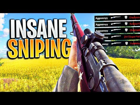 SNIPING On This Game Is AMAZING (INSANE Battlefield 5 Sniper Clips)