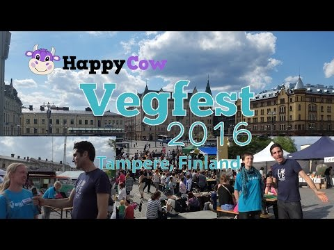 Vegfest Tampere, Finland 2016 Insider Tips / HappyCow