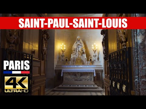 【4K】Inside Saint-Paul Saint-Louis