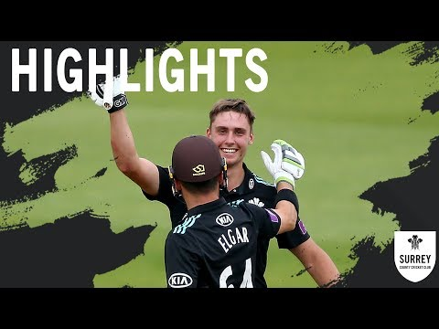 Highlights: Surrey v Gloucestershire - Royal London One-Day Cup