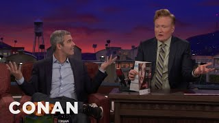 Conan Is Angry That Andy Cohen Won People